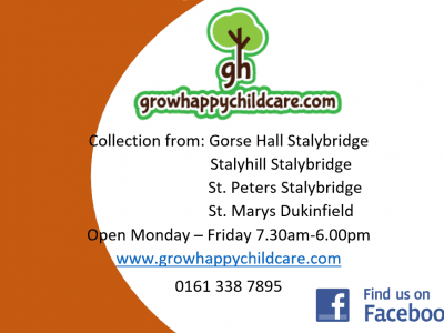 Grow Happy Childcare before and afterschool club!